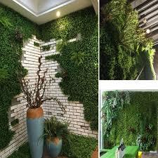 verde vertical garden elegant artificial boxwood hedge fake vertical garden green wall ivy mat
