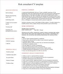 Sample Consultant Resume 5 Documents In Pdf Word Psd