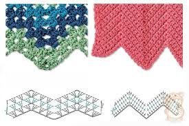Zig Zag Crochet Pattern Delectable Best 48 Herringbone Zig Zag Crochet Stitches For Free ⋆ Crochet Kingdom