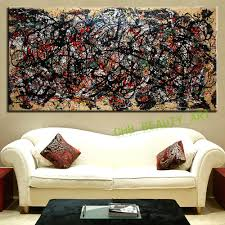 the most famous large canvas painting abstract art wall pictures with regard to most cur large