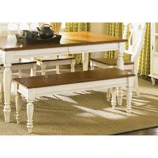 liberty furniture low country sand dining bench at hayneedle