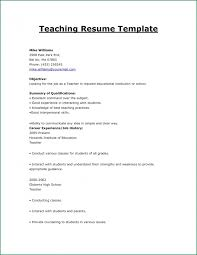 Sample Resume For Indian Teachers Without Experience Https