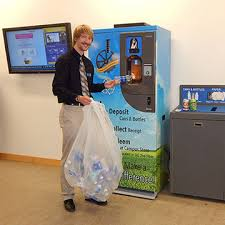 Man Vs Vending Machine Custom New Reverse Vending Machine Available At Alfred State Alfred State