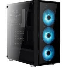 Комплектующие для <b>корпуса AeroCool Quartz</b> RGB Black + P7-H1 ...