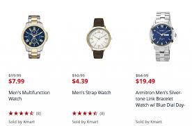 men s clearance watches as low as 4 39 at kmart bies2deals screen shot 2017 01 17 at 9 38 21 am