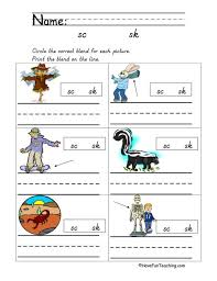 Click on the images to view, download, or print them. Blends Worksheets Have Fun Teaching