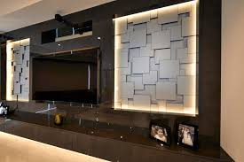 Small Picture Media Wall Design Media Wall 2 Contemporary Family Room Media