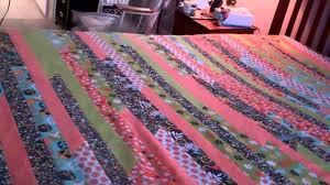 Queen King Jelly Roll Quilt Part 5 Finishing the top - YouTube &  Adamdwight.com