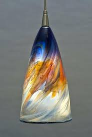 hand blown glass chandelier endearing pendant lighting best ideas about on unique uk