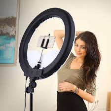 Ring Light For Makeup Australia 2019 Camera Photo Studio Phone Video 55w Led Ring Light 5500k Photography Dimmable Makeup Ring Lamp With 200cm Tripod From Flymall 152 64