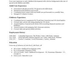 4 Special Education Teacher Resume Commerce Invoice Teachers