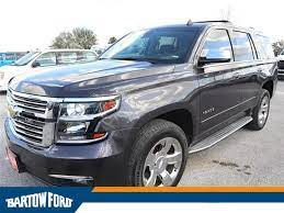 Pre Owned 2015 Chevrolet Tahoe Ltz In Bartow W0631a Bartow Ford
