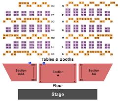 Harrahs Showroom At Harrahs Las Vegas Seating Chart Las
