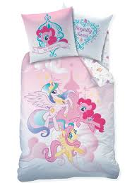 official my little pony single duvet cover set reversible rotary bed sheets