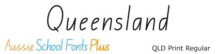Queensland Modern Cursive Style Qld Cursive And Running Writing Fonts For Queensland Schools Edalive Educational Software