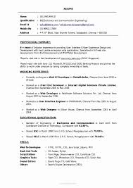 Sample Resume For Experienced System Administrator Best Of 4 Years