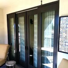 pella sliding doors door lock mechanism screen removal glass with blinds inside
