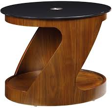 modern z shape oval coffee table