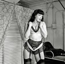 Secret Oranges Bettie Page dances to Siouxsie and the Banshees