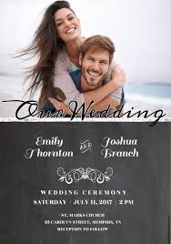 523 free wedding invitation templates you can customize Electronic Wedding Invitations Samples a chalkboard wedding invitation with a photo electronic wedding invitations templates