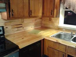 Pallet Wood Backsplash Butcher Block Counter Top Butcher Block Countertops Finished With
