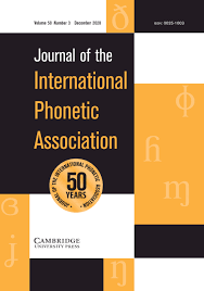 It is used to spell out words when speaking to someone not able to see the speaker, or when the audio channel is not clear. Journal Of The International Phonetic Association Cambridge Core