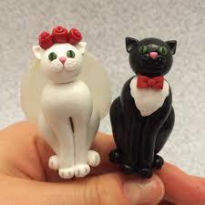 Cat Wedding Cake Toppers by noellewis on DeviantArt