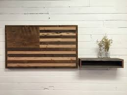 reclaimed wood american flag wall decor 2