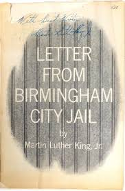civil rights movement letter from a birmingham jail my