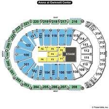 Infinity Center Duluth Seating Chart