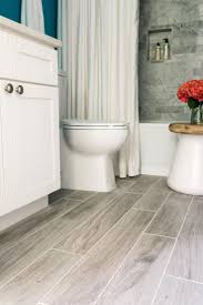 enchanting white oak wood floor for bathroom flooring design