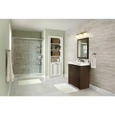 Home Depot Bathroom Design The Home Depot Installed Custom Tub To Shower Conversion
