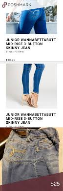 Ymi Size Chart Ymi Size 7 Wanna Betta Butt Jeans 2 Pair Size 7 See Size
