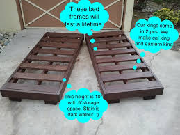 Extra Sturdy King Bed Frame | supercape