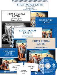 Latin Grammar Charts Pdf First Form Latin Complete Set