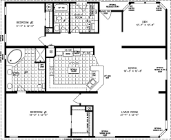 manufactured home floor plan the t n r model tnr 7482 2 bedrooms 2