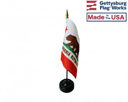 california flags the state flag of