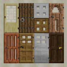 minecraft door. This Resource Pack Was Made To Fix 3 Issues With Normal Minecraft Door Models Without Using Custom Textures, Allowing It Be Compatible C