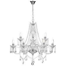 19 most blue ribbon light chandelier katie polished chrome acrylic glass best chandeliers unique blown