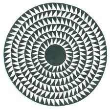 interior black and white round rug org complete fresh 0 chevron ikea