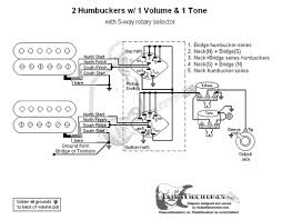 humbuckers 5 way rotary switch 1 volume 1 tone 05 2 humbuckers 5 way rotary switch 1 volume 1 tone 05