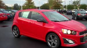 2014 Chevrolet Sonic RS Hatchback Red Hot, Burns Cadillac ...