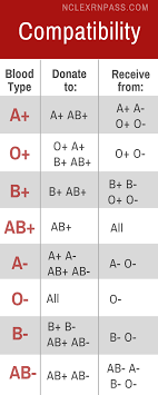 Blood Transfusion Chart Compatibility Blood Compatibility Made Easy Nursing Students Nursing