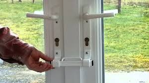 french door security bar. Simple Bar The Burglarybuster 2 French Door Keyless Cuff Lock Throughout Security Bar E