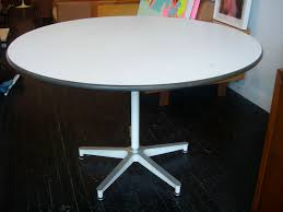 early eames contract base dining table herman miller 1957 this rare table makes use