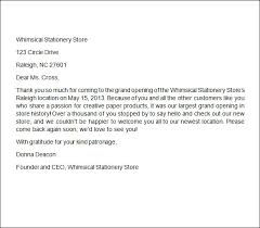 Thank You Letter To Client For Continued Business Lezincdc Com