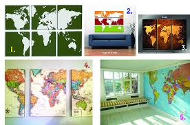 map inspiration on diy map panel wall art with canvas map wall art just two crafty sistersjust two crafty sisters