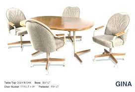 rolling dining chairs. Caster Dining Chair Chairs For Kitchen Swivel Tilt Rolling -