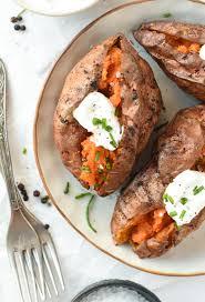 air fryer baked sweet potato the