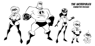 Pypus is now on the social networks, follow him and get latest free coloring pages and much more. Free Collection Of Incredibles Coloring Pages Coloring Pages Library